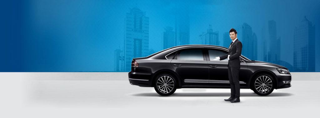luxury black car service