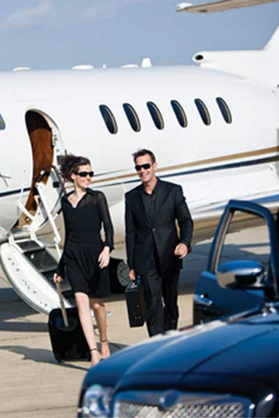 Charter car hire in San Francisco
